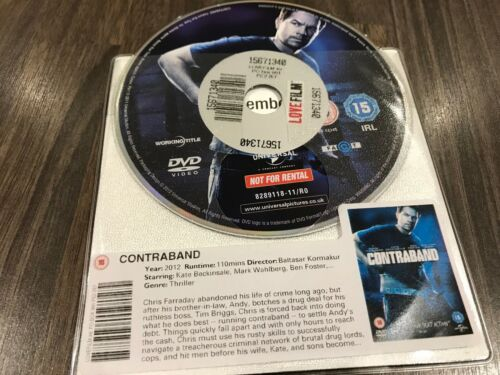 1 of 1 - Contraband (DVD, 2012) DISK ONLY