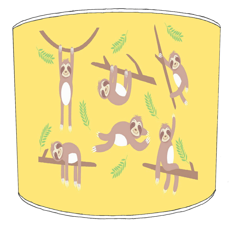 Bradipo Bradipo Bradipo Modelli Paralumi, Ideale da Abbinare Bradipo Copricuscino 5f7a53