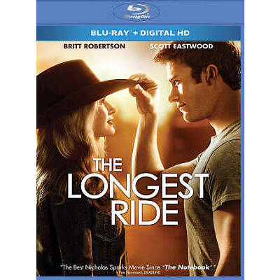 Longest Ride, The Blu-ray New, Free First Class Shipping