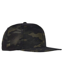 Yupoong® 6089MC BLACK Multicam Snapback Hat Camo Classic Adjustable Camouflage