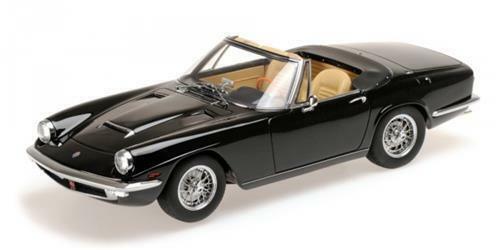1 18 Minichamps 107123430 1964 Maserati Mistral Spyder nero Lmtd. EDT. 999