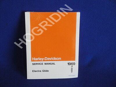 1958-68 HARLEY PARTS CATALOG MANUAL BOOK SHOVELHEAD ELECTRA DUO GLIDE PANHEAD