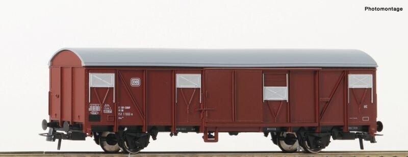 in OVP Spur H0 gesupert 1 von 3 Roco 46256 Gedeckter Güterwagen der DB