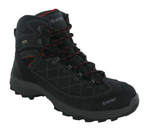 Hi-Tec Bergamo Suede Dri-Tec Waterproof Walking Boot PU Midsole UK7-13
