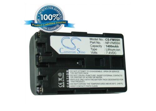 b Dslr-a100h Np-fm55h Li-ion Reino Unido Stock Nueva batería para Sony Dslr-a100 Dslr-a100