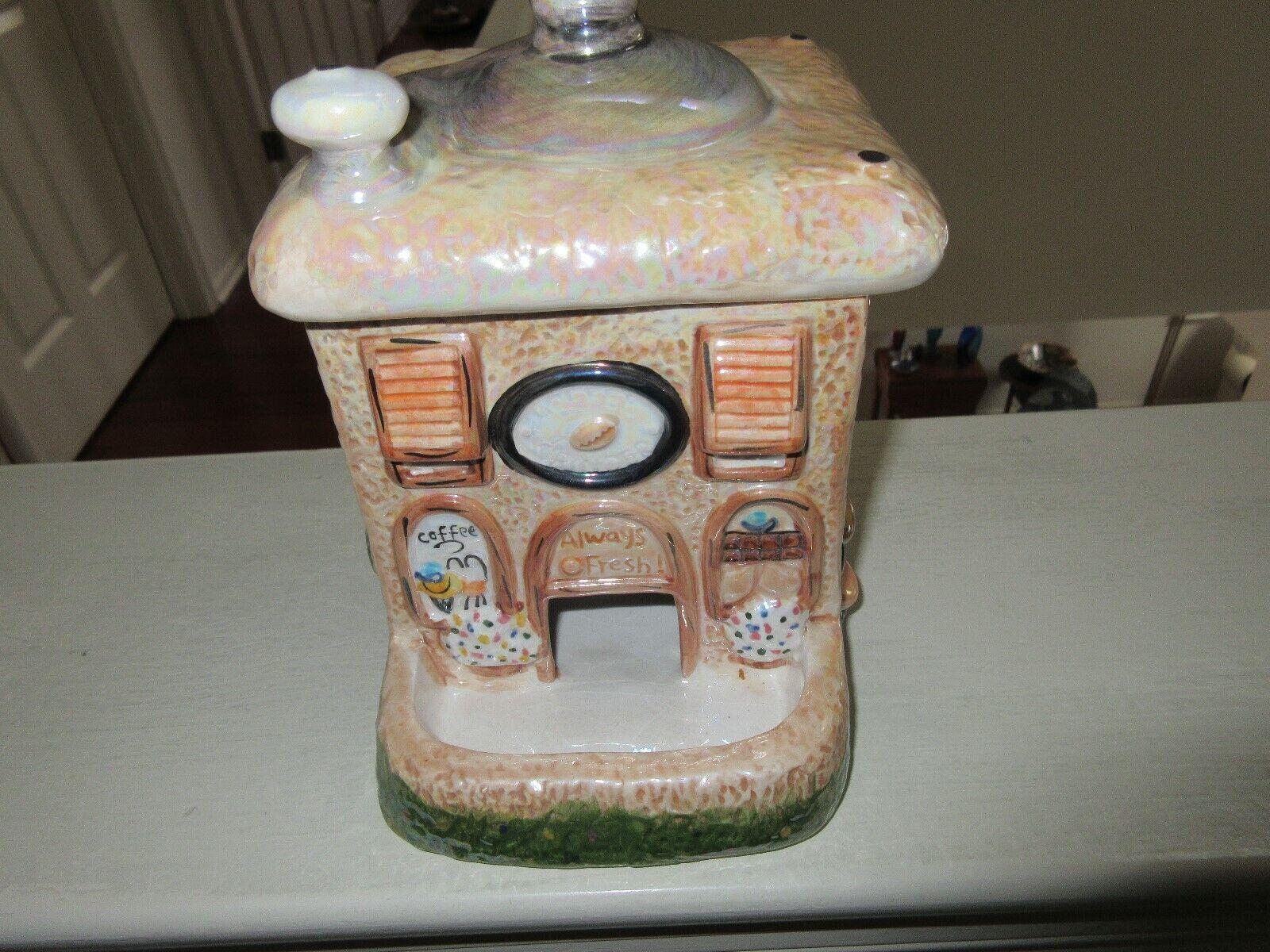 Porcelain , Coffee Express , Vintage , Display Unit , 5  X 5 X 5  , Coffee Drive