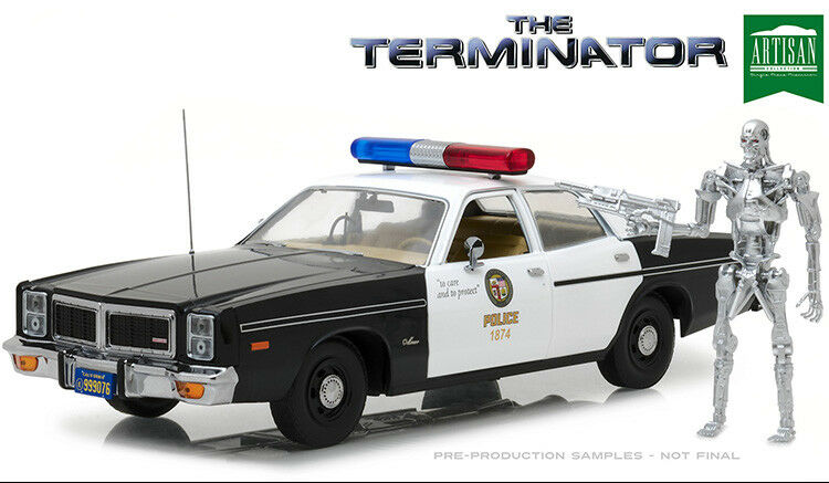 1:18 Artisan Collection GL-19042 1977 Dodge Monaco Metropolitan Police