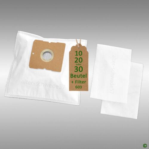10 Staubsaugerbeutel geeignet fuer AEG Original Gr.50 Filtertueten #603