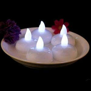 Image Is Loading 12pcs Waterproof Floating Battery Led Water Candle Light