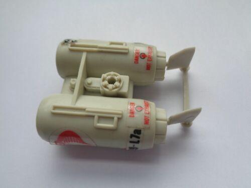Gi Joe part COBRA FLIGHT POD 1985 MISSILE CONTROL ARM MINE HATCH TIE ROD ENGINE