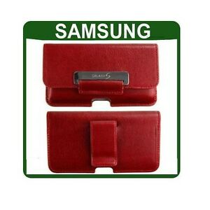GENUINE-Samsung-GALAXY-S-GT-i9000-LEATHER-CASE-original-smartphone-pouch-cover