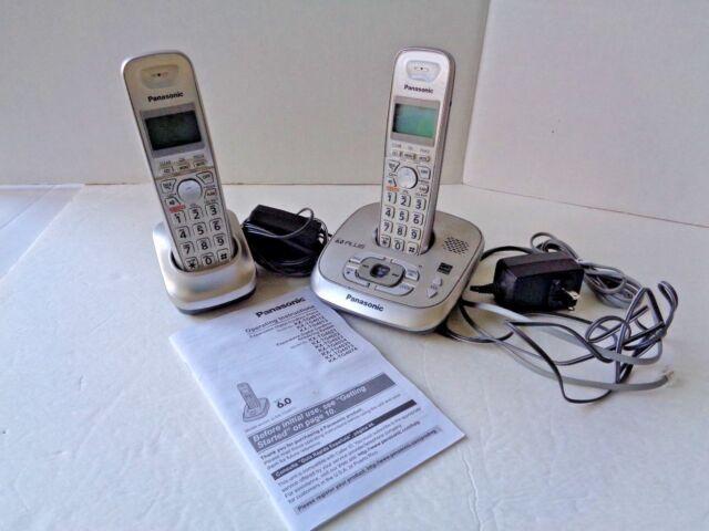 ad5e3460e5c8 Panasonic Kx-tg4011 DECT 6.0 Plus Expandable Digital Cordless Phone ...