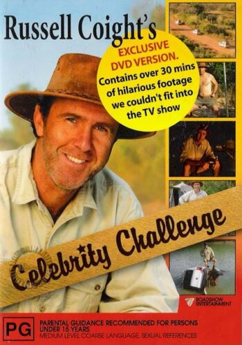 1 of 1 - RUSSELL COIGHT'S CELEBRITY CHALLENGE : NEW DVD