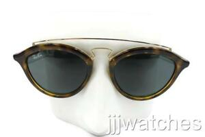 f5b1c432509 New Ray-Ban Gatsby II Gold Tortoise Green Classic Sunglasses RB4257 ...