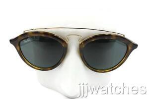 70542bd00 New Ray-Ban Gatsby II Gold Tortoise Green Classic Sunglasses RB4257 ...