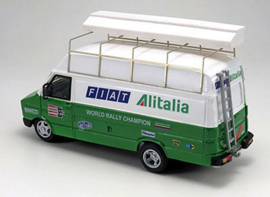 Kit Fiat Daily Alitalia Team Ufficiale 131 Abarth 1978-1979 - Arena Models 1 43
