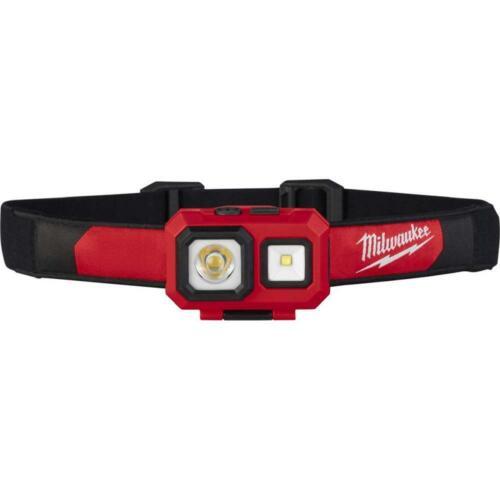 Milwaukee 2104 Spot//Flood 450-Lumens Battery Powered Adjustable Headlamp
