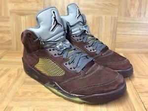 ea32116ff6ad17 RARE🔥 Nike Air Jordan 5 V Retro LS Deep Burgundy Graphite Silver 12 ...