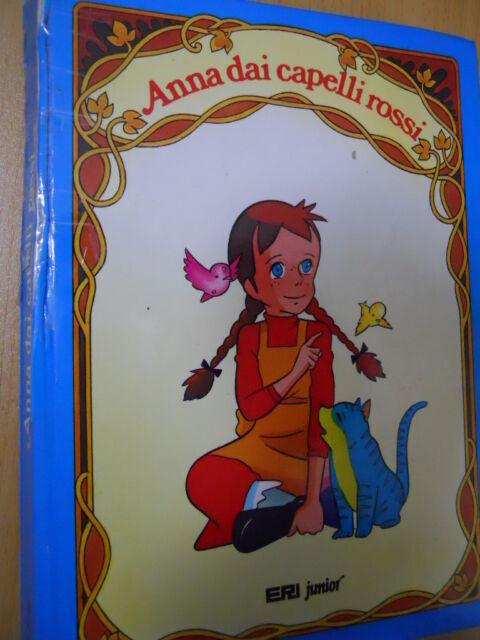 Libro Illustrato Anna dai Capelli Rossi ed. Eri Junior Giunti  [G123]