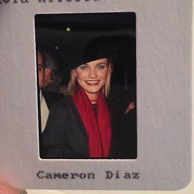 1998 Cameron Diaz Actress ORIGINAL 35mm SLIDE Transparency ... Cameron Diaz Movies 1998