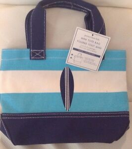 Pottery Barn Kids Mini Beach Tote Blue Amp Aqua Surfboard