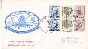 3-FEBRUARY-1984-SPACE-SHUTTLE-CHALLENGER-STS-41-B-COVER-HUSTON-CANCEL