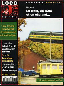 LOCO-REVUE-573-DE-1994-COLLECTION-COLLECTION-JOUEF-LES-TRAINS-LES-MOINS-CHER