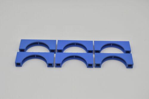 LEGO 6 x Brückenstein Bogen Bögen 1x6x2 blau blue brick with bow 3307