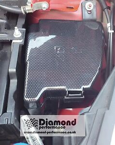 s l300 ford fiesta mk7,7 5 all models inc st fuse box cover carbon fibre ford fiesta fuse box mk7 at couponss.co
