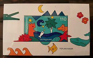 Allemagne-Federal-Rfa-Vintage-1998-Bloc-42-Neuf-MNH-Plus-Sh-Boutique