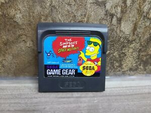 The Simpsons Bart vs The Space Mutants - Cart Only - Game Gear Sega