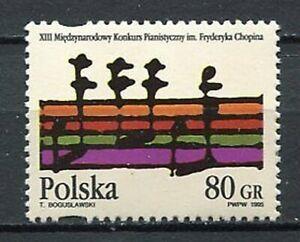 36028) Poland 1995 MNH Chopin Piano Festival 1v