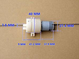DC12V High Flow Pump 385 Motor Pump Diaphragm Self-priming Pump
