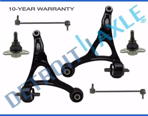 2003-2014 Volvo XC90 Front Lower Control Arm Ball Joint Sway Bar link Kit 6pc