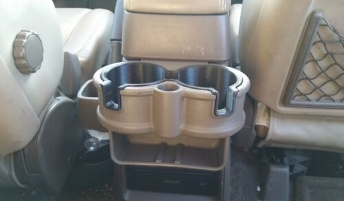 LX450 Middle Row Double Cup Holder 1991-1997 Toyota Landcruiser