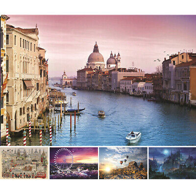 1000 PIECE Venice Water City SCENE COLOURFUL JIGSAW PUZZLE TRADITIONAL QUALITY