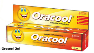 Details about Oracool Adult Gel 15g - Effective Pain Relief from Mouth  Ulcers Free Shipping
