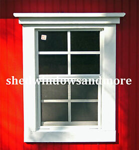 Image Is Loading Small Shed Windows 14x21 Sw1421wf 2 Lot Of
