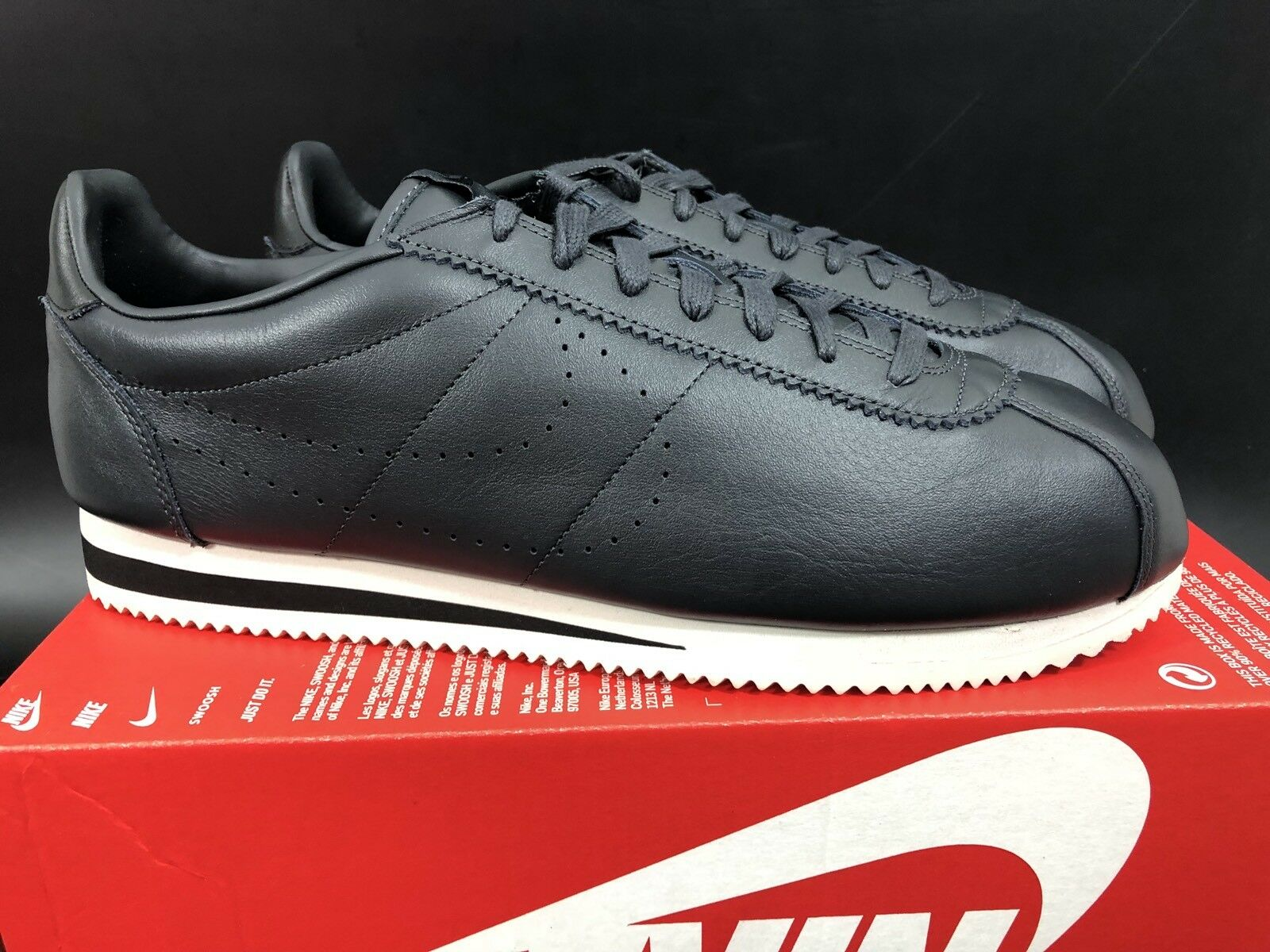 NIKE Taille CLASSIC CORTEZ LEATHER PREMIUM Taille NIKE UK12/US13/EUR47.5/CM31 861677-008 61a54b