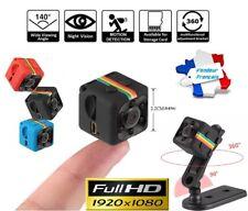 Mini Caméra FULL HD -- NOIRE -- Espion Caché Vision Nocturne Infrarouge 1080P