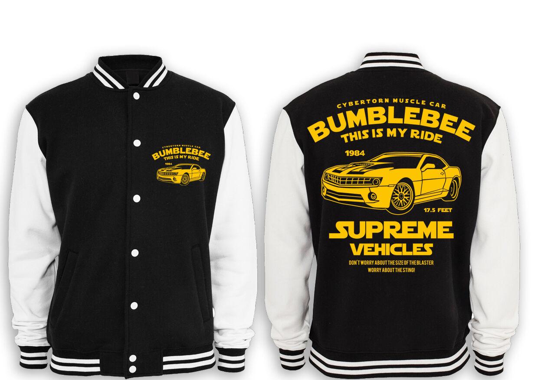 Bumblebee Fun Collegejacke , Camaro, Chevrolet, Transform, Kult , Fun