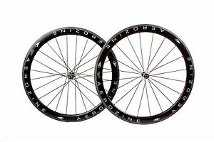 Aerozine-XW-RD50-Road-Bicycle-Bike-700c-Tubular-Carbon-Wheelset-10s-11s-Wheel