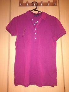 detailed look 60aea fa21f Details zu Polo Ralph Lauren Poloshirt slim fit Damen T-Shirt Gr. M Neu NP  99€