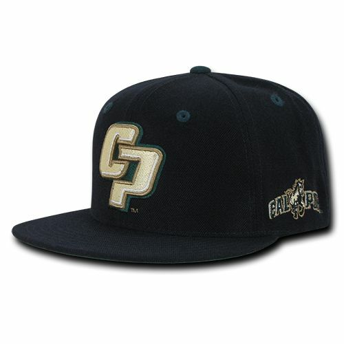 NCAA Cal Poly Mustangs University Cal Poly Sol 6 Panel Game Day Caps Hats