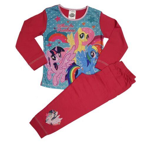Tout caractère Neuf Filles Bébé My Little Pony Pyjamas 18 Mois 2 3 4 5 ans