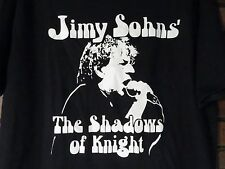 JIMY SOHNS' The Shadows Of Knight Mens T-Shirt Size L