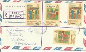 British Indian Ocean Territory SG#47-59 FIRST DAY DIEGO GARCIA-CHAGOS 9/AP/73