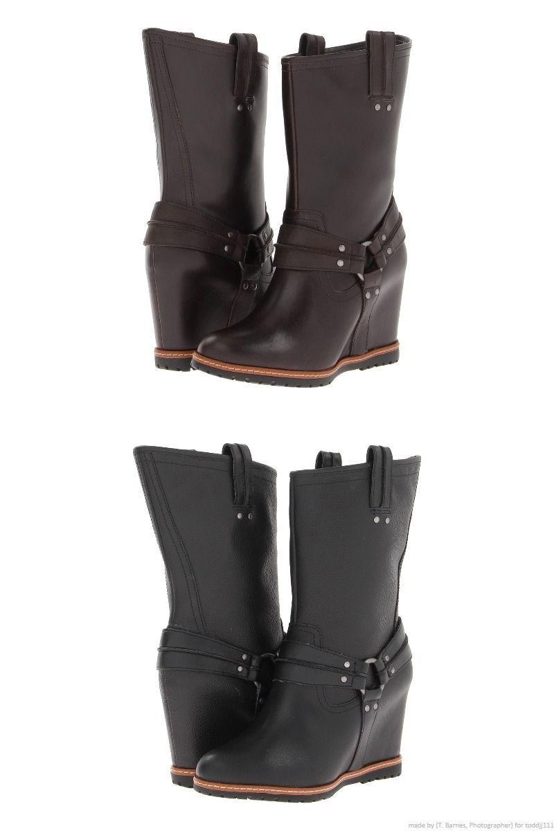 SKECHERS (Leather) Womens Boot Shoe! Reg150 Sale 69.99