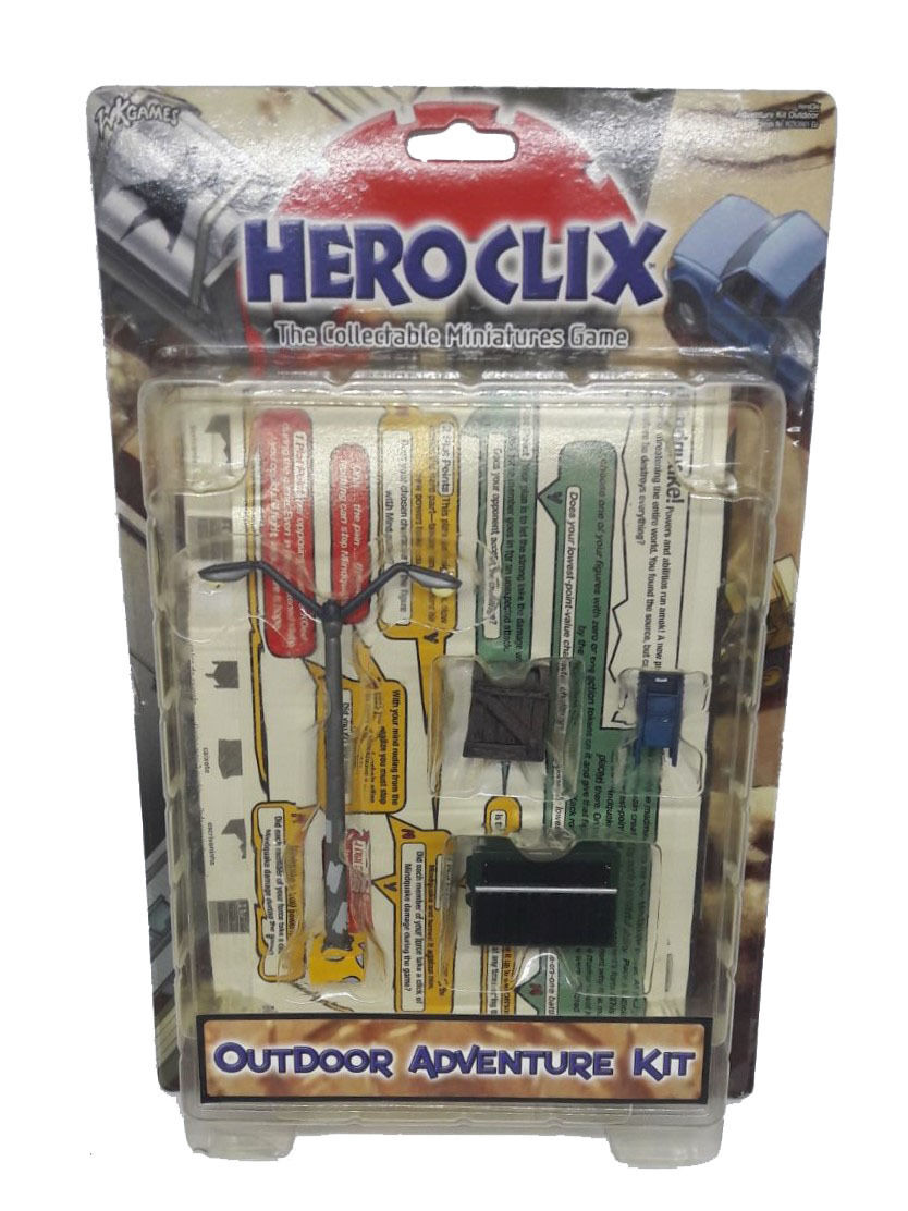 HEROCLIX Outdoor Adventure Kit OLD RARE NEW FACTORY SEALED ENG
