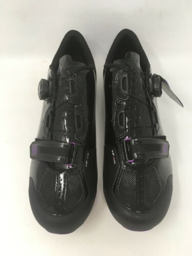 NEW Bontrager MERAJ Black Carbon Road Shoes VARIOUS SIZES NEW IN BOX MSRP $220